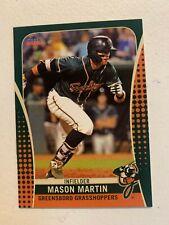 Mason Martin 2019 Greensboro Grasshoppers Team Card