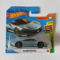 McLaren Speedtail Hot Wheels 2020 Caja N Exotics 2/10 Mattel