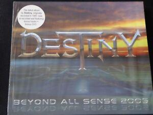Destiny - Beyond All Sense 2005 (SEALED NEW CD WITH BONUS TRACKS & BONUS DVD)