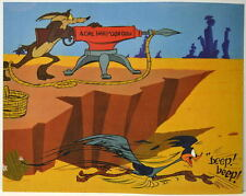 Looney Tunes ACME HARPOON GUN Print Wile E Coyote Roadrunner