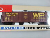 Walthers HO Scale Western Pacific Exterior Post Box Car 932-3605