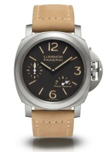 Panerai Luminor Leather Watch Strap Band Authentic Brand New