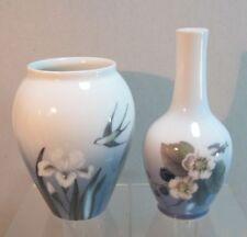 2 Vasen 2x Vase Copenhagen Blumen Kopenhagen Sammlerstücke (D2)