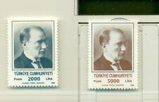 PERSONALITA' - PERSONALITIES TURKEY 1989 Ataturk Common Stamps