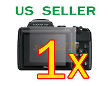 1x Nikon Coolpix L120 Clear LCD Screen Protector Guard Cover Film