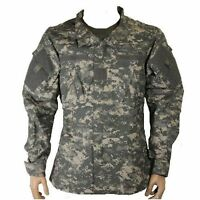 Bulle US Army UCP Grey Digital Camo ACU Military Tactical Combat Shirt Ripstop