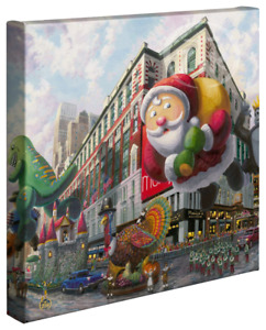 Zac Kinkade Thanksgiving In New York 14 x 14 Gallery Wrapped Canvas