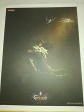 Preorder (1500 units)Castlevania Lords of Shadow Mirror Fate lithography/Sheet 1