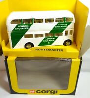 CORGI 1983 - DIECAST - LONDON CRUSADER ROUTEMASTER BUS - 479 - BOXED