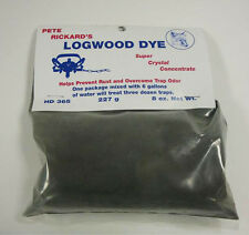 Pete Rickard's Super Crystal Concentrate Logwood Dye 8 oz, Black