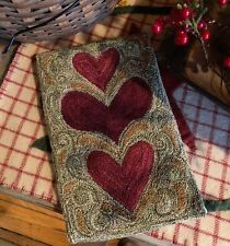 Primitive Punch Needle Pattern ~ Wonky Hearts