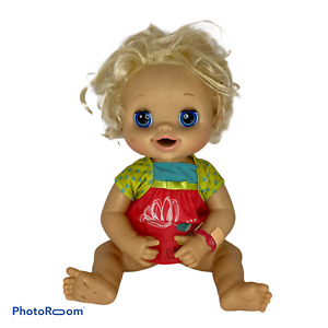 🍊 2010 Baby Alive Real Surprises Bilingual English/Spanish Blonde Girl Doll F5