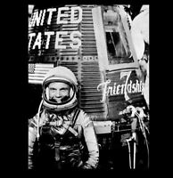 1962 John Glenn PHOTO,Mercury Friendship 7 Space Capsule Earth Orbit Mission