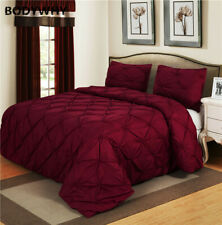 2020 Luxury Set Rattan Red Home Textiles 2/3 Piece Double/Queen/Double Bedding