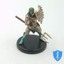 Triton Fighter (shield) - Monster Menagerie 3 #38B D&D Miniature