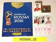 "WC RUSSIA 2018 Panini -ALBUM + Set Completo Figurine-Stickers ROSA-PINK BACK ""1"""