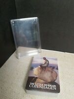 Danmark Deck of Playing Cards Vtg New Sealed The Little Mermaid W/ Plastic Case