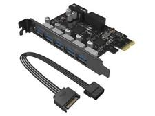 ORICO Monster USB 3.0 PCI - Express Card with 5 Rear USB 3.0 Ports and 1x Intern