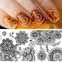 BORN PRETTY Nail Art Stamp Template Chic Flower Image DIY Stamping Plate BP-L014