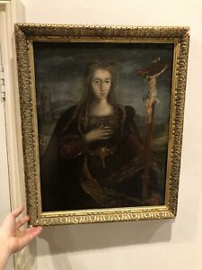 Really Old Painting Oil On Panel Early 16th Century Italian? Renaissance