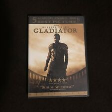 Gladiator - Widescreen- (Dvd, 2000) Russell Crowe Action Adventure
