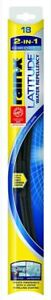 NEW! nib Rain-X 5079275-2 Latitude 2-IN-1 Water Repellency Wiper ONE Blade 18""