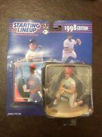1998 starting lineup MLB Juan Gonzalez Texas Rangers action figure SLU baseball