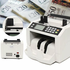 Bill Money Counter Cash Currency Count Counting Counterfeit Detector Machine Usa