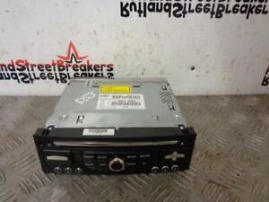 CITROEN DS3 STEREO HEAD UNIT RADIO CD PLAYER AUX MEDIA SATNAV 98067084XT