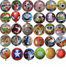 KIDS BOYS GIRLS THEMED ROUND BALLOON BIRTHDAY PARTY SUPPLIES LOOT BAG FILLER