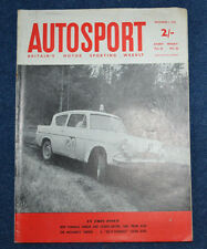 Autosport 1st December 1961 Elva FJ and Mk VI, Lotus Elite, RAC Rally