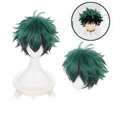 Cosplay Wig Anime My Hero Academia Deku Izuku Midoriya Green Short Wig US