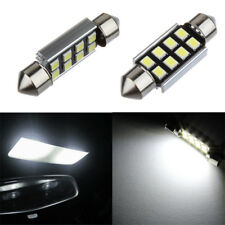 2 x 36mm 2835 Festoon Canbus 8SMD LED Car Interior Dome Map Light Bulb Lamp AU