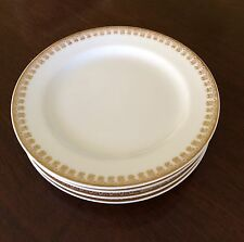 Haviland Limoges Exquisite Gold Trim Set of 4 Bread & Butter Plates