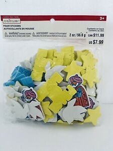 Creatology Christmas Foam Stickers Nativity Peace On Earth Dove 2oz Pk Art Craft
