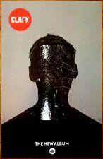 CLARK S/T 2014 Ltd Ed New RARE Poster +FREE BONUS Electronica/Rock/Dance Poster
