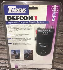NEW~Targus PA400U Defcon 1 Notebook Security System 4 digit combo w/110DB Alarm