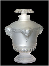 Rene LALIQUE Jacques Guerlain Bouquet De Faunes Glass Perfume Bottle Paris Art