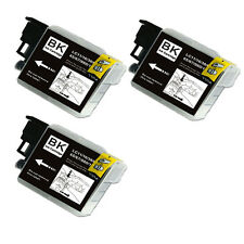3PK BLACK Ink Cartridge Compatible for Brother LC61 MFC J220 J265W J270W J410W