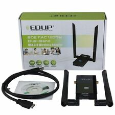 EDUP EP-AC1605 802.11AC 1200M Dual-Band USB 3.0 Wireless Adapter WiFi Dongels