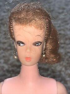 """Vintage 11.5"""" Eegee EG Miss Babette Platinum Ponytail Clone Barbie Fashion Doll"""