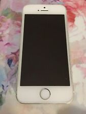 Apple iPhone 5S 16GB White Silver Unlocked Tested Working