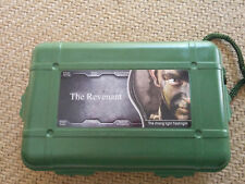 Revenant flashlight with protective green case USA shipping