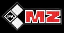 MZ IFA Motorradwerk Zschopau toppa ricamata termoadesivo iron-on patch Aufnäher