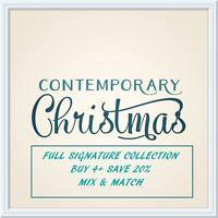 Sara Davies Contemporary Christmas Card Craft Signature Collection - FULL RANGE