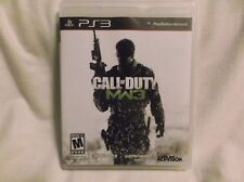 Call Of Duty Modern Warfare 3 / COD MW 3-SONY PS3 Action / Shooter Game Complete