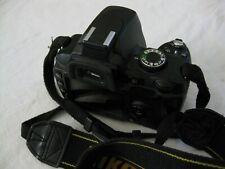 Nikon D60 Digital SLR Camera Body Only (Black) Excellent - Good Condition