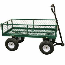 Rhyas 53380 Large Garden Trolley Cart Truck Wheelbarrow 320kg