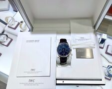 PRE-OWNED ORIGINAL BOX/PAPER IWC PORTUGIESER 42 MM 5001 7 DAY POWER RESERVE