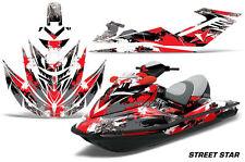 AMR Racing Jet Ski Graphics Wrap Sea Doo RXT Decal Kit 2005-2009 STREET STAR RED